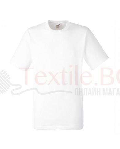 5 броя бели плътни мъжки тениски Fruit Of The Loom GmbH