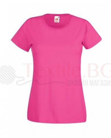 Памучна дамска тениска Fruit Of The Loom GmbH