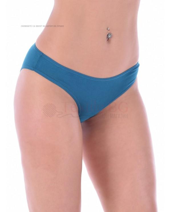 "Комфортен модел бикина от памук-ликра ""ИВОН"""