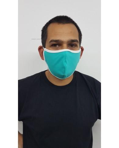 Предпазна маска за лице за многократна употреба.