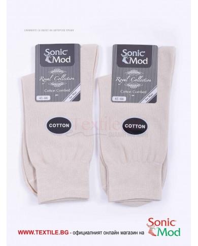 Мъжки чорапи пениран памук СОНИК МОД
