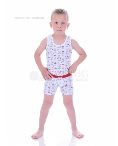 """Детски боксер момче комплект от 3 броя """"Бохем"""""""
